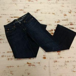 7 for all mankind dojo flip flop jeans